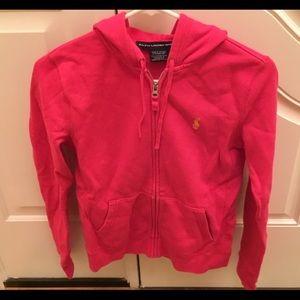 Ralph Lauren Full Zip Sweatshirt size Small